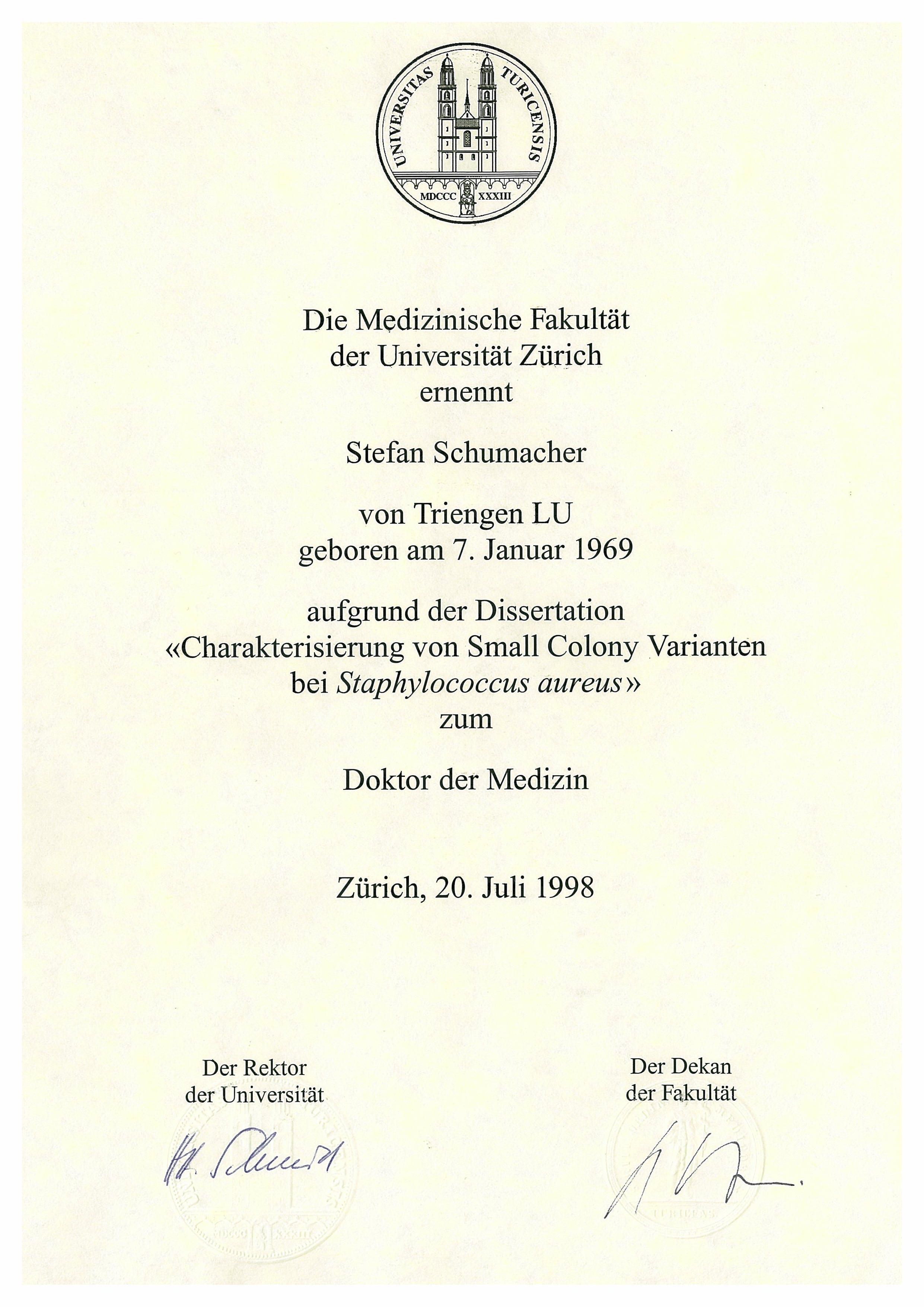 Dissertation uni basel medizin